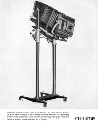 Deardorff Precision Camera Studio Stands