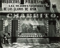 Façade, Pulqueria, Mexico, Edward Weston, 1926
