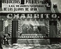 Façade, Pulqueria, Mexico, Edward Weston, 1926