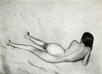 Nude on Sand, Oceano, Edward Weston, 1936