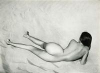 Nude on Sand, Oceano, Edward Weston, 1936
