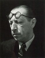 Igor Stravinsky, Edward Weston, 1935