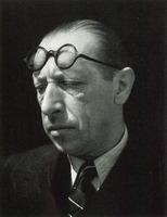 Igor Stravinsky, Edward Weston, 1935