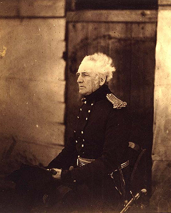 Lieutenant General Sir George Brown, by Roger Fenton, Crimean War Photographs