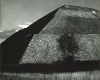 Piramide del Sol, Mexico, Edward Weston, 1927