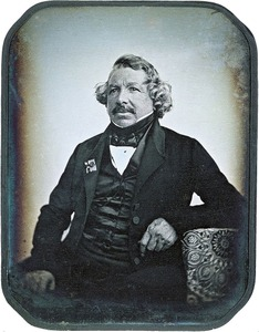 Louis-Jacques-Mandé Daguerre (French: [dag??]; 18 November 1787 — 10 July 1851) was a French artist and photographer, recognized for his invention of the daguerreotype process of photography. He became known as one of the fathers of photography. Though he is most famous for his contributions to photography, he was also an accomplished painter and a developer of the diorama theatre.