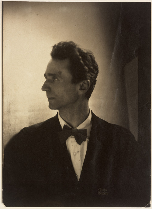 Edward Steichen, Self-Portrait, 1917 (Coated platinum print)
