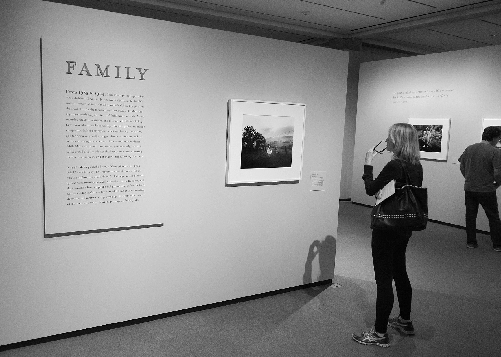 Sally Mann: A Thousand Crossings — Family