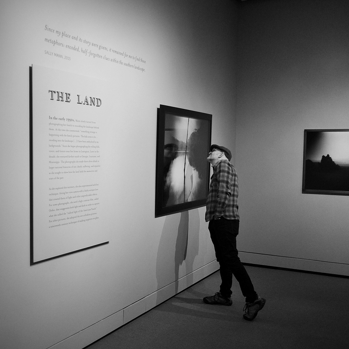 The Land: Since my my place and its story were givens, it remained for me to find those metaphors: encoded, half-forgotten clues within the southern landscape — Sally Mann 2015