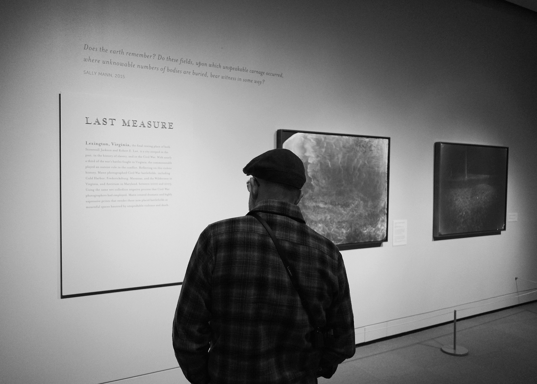 Last Measure: Does the earth remember? Do these fields, upon which unspeakable carnage occurred, where unknowable numbers of bodies are buried, bear witness in some way? — Sally Mann, 2015
