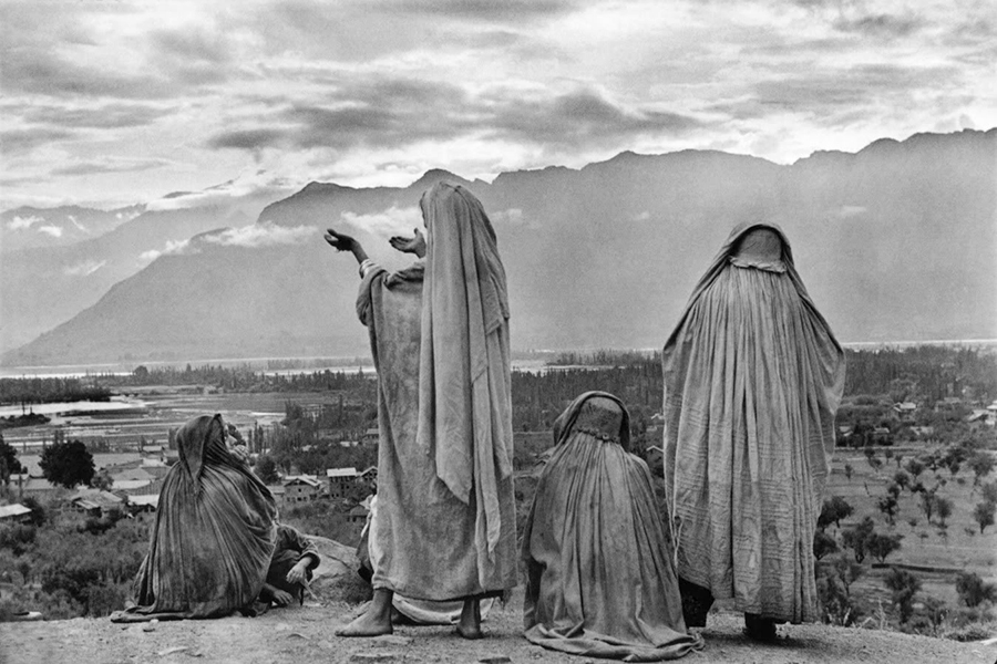 Henri Cartier-Bresson, Srinagar, Kashmir, India